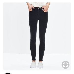 "Madewell 9"" High-Rise Skinny Jeans in Lunar"